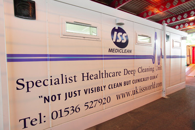 UK's First Permanent Hospital Decontamination Cleaning Unit