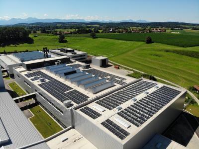 Bild der Photovoltaik-Anlage