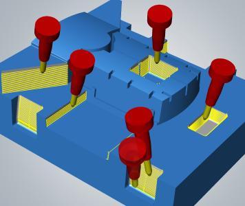 Effizienzsprünge für den Formenbau mit hyperMILL® MAXX Machining (Bild: OPEN MIND)