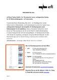 """[PDF] Pressemitteilung: erfi Ernst Fischer GmbH + Co. KG präsentiert neuen, umfangreichen Katalog für 19""""-Elektroniklaborgeräte – erfi instruments"""