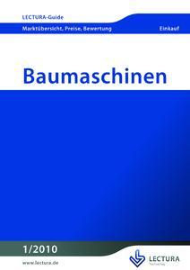 LECTURA-Baumaschinen-Guide zur BAUMA