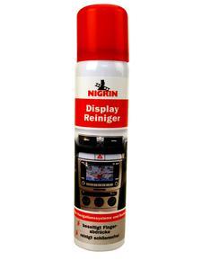 Der neue NIGRIN Display-Reiniger sorgt für Durchblick bei Navi, Handy, Computer und Fernseher.