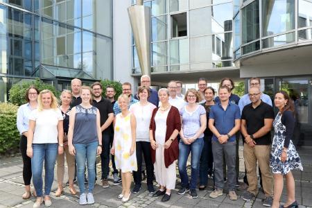 Die CONET-Ausbilder und -Ausbilderinnen betreuen aktuell 43 Auszubildende in den Bereichen Fachinformatik und Büromanagement