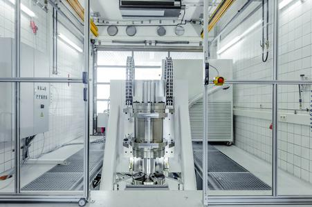 The world's more powerful test bench, used by Trelleborg Sealing Solutions to test the mettle of their hydraulic rod seals before releasing components for demanding applications