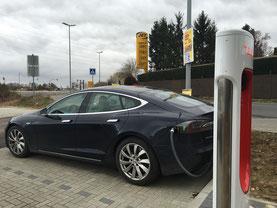 Solar Tesla in Heroldsberg