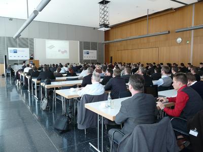"""Über 120 Teilnehmer waren Mitte Februar 2013 nach Augsburg zum """"Ermüdungstag"""" des Carbon Composites e.V. gekommen."""