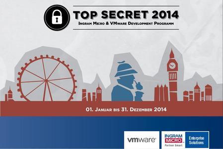 VMware Top Secret 2014 Plakat