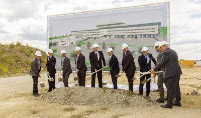Ground-breaking Ceremony for New Logistics Center in Kitzingen