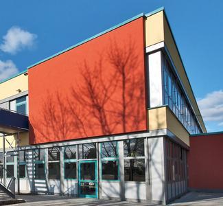 Das Schulgebäude des Gymnaiums »Einhardschule Seligenstadt« wurde von Grund auf modernisiert