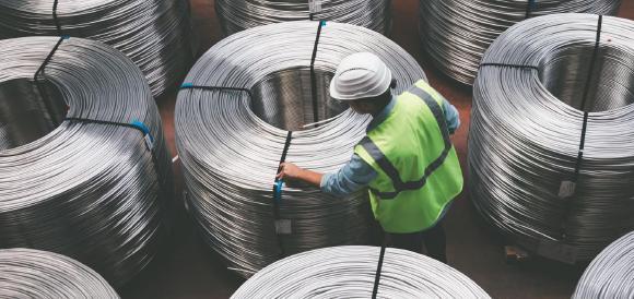 Die Preise für Eisenerz und Kupfer steigen