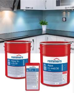 Das Aqua-Glaslack-System von Remmers lässt Glasoberflächen im Haushalt strahlen / Bildquelle: Remmers, Löningen