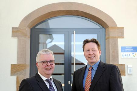 Die Inhaber und Geschäftsführer von GAIA, Michael Wahl und Torsten Szielasko (von links nach rechts) / Bildnachweis: GAIA mbH