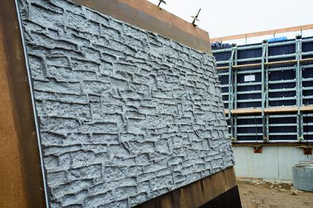 Something only NOE can do: textured formliners and concrete formwork from a single supplier. Delivered to site, ready for immediate use, including the formwork reuse plan and concreting schedule.