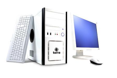 PC System weiß