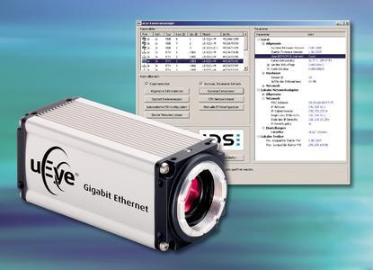Camera Manager for the uEye® Gigabit Ethernet Camera_Bild