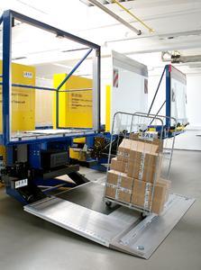 Bär Cargolift mit Abrollsicherung
