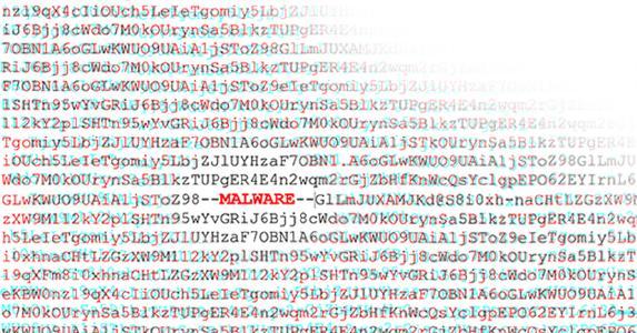 Der Code eines Malware-Downloaders war so trickreich verschleiert, dass G DATA Forscher zunächst von einer fehlerhaften Datei ausgingen