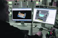 COSCOM ProfiCAM VM bringt den entscheidenden Vorteil: Die Programmierzeit eines komplexen Bauteils hat sich dank moderner 3D-Programmierung von zwölf auf zwei Wochen reduziert.
