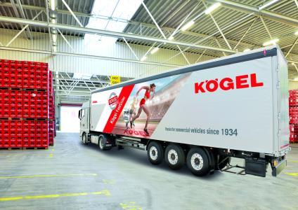 Kögel Cargo from the NOVUM generation with Kögel FastSlider