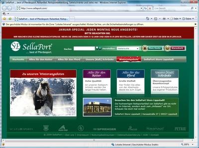 Startseite www.sellaport.com
