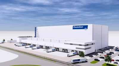 SSI Schaefer Receives Order from Kloosterboer for a High Bay Cold Storage Facility