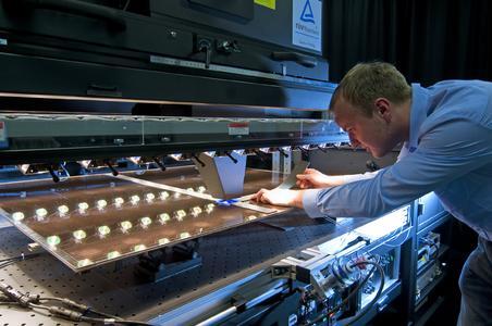 Teststand Photovoltaik Spektralmessung