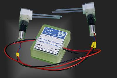 Peristaltic micropumps and driver