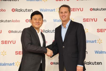 Walmart and Rakuten Announce New Strategic Alliance, Rakuten