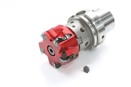 First milling cutter with HX blades of PcBN