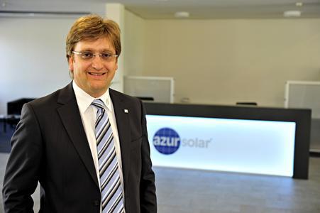 Bernd Sauter CEO AZUR Solar