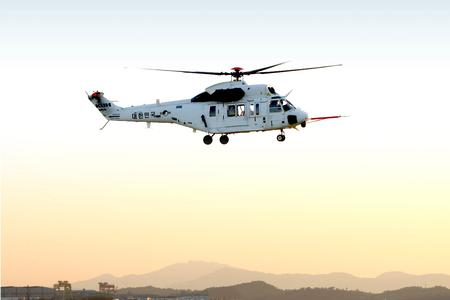 A picture of the Surion 4th prototype in flight is enclosed (© Copyright Korea Aerospace Industries Ltd.)