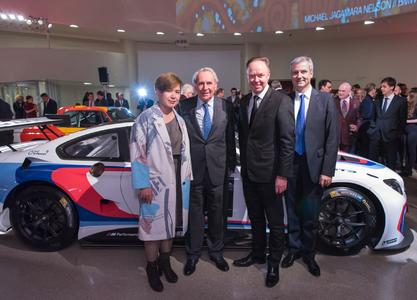 Cao Fei, Hervé Poulain, Ian Robertson, Member of the Board of Management of BMW AG, Jens Marquardt
