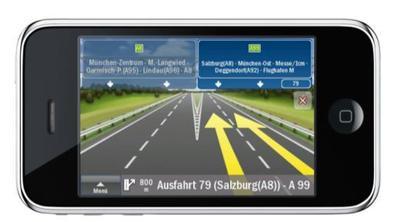 ClearTurnTM für eine realitätsnahe Darstellung von Autobahnausfahrten