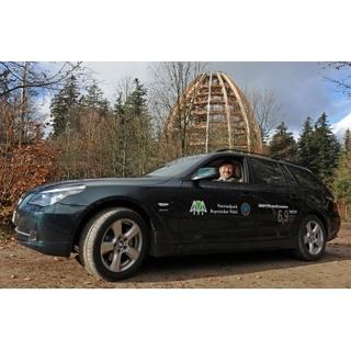5.555.555ster BMW 5er für den Nationalpark Bayerischer Wald
