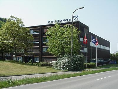 Zentrale Grundfos Schweiz / Foto: Grundfos