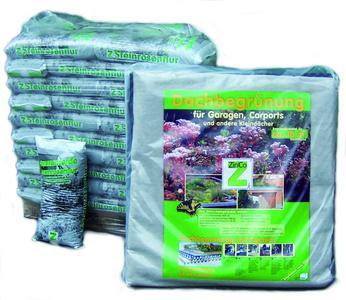 Für alle Heimwerker: Das ZinCo Garagenpaket, zum selber begrünen (Bild: ZinCo)