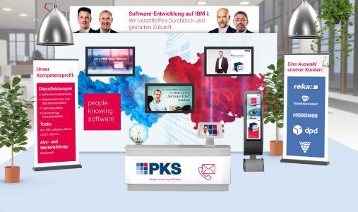 PKS Messestand POW3R Digital 2020