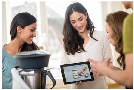 Intuitiv auf Rezepte und Kochbücher im Thermomix Rezept-Portal zugreifen - über die von netzkern und communicode entwickelte WebApp des Thermomix