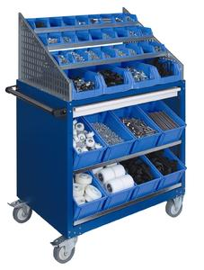 Apfel workshop trolleys for any use in production processes