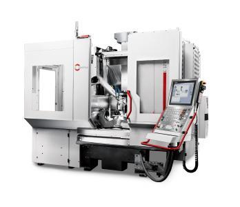 Robotersystem RS 05 adaptiert an ein Bearbeitungszentrum C 12 U dynamic