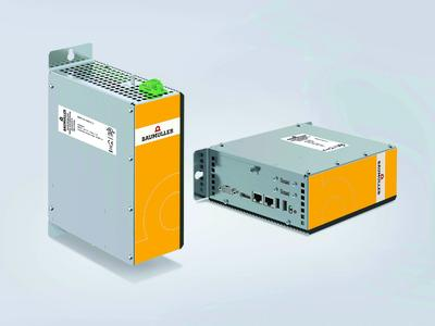 With the b maXX PCC04, Baumüller offers a powerful box PC with integrated EtherCAT master, which can be used flexibly. Thanks to high availability and energy efficiency, it presents a cost-effective solution