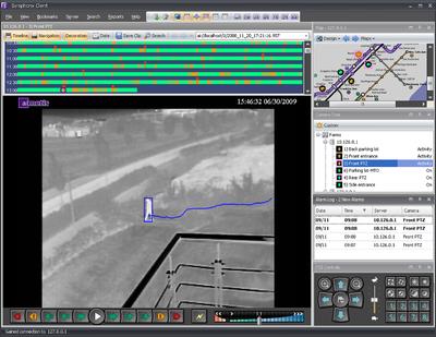 Symphony Screen Shot  Waermebildkamera