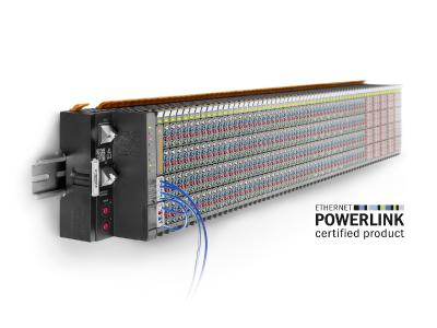 The new Weidmüller u-remote POWERLINK fieldbus coupler supports the POWERLINK Industrial Ethernet Standard.