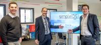 "Das Team des Start-ups ""simpleDS"" (v.l.n.r.): Ludwig Reinmiedl, Thomas Schaarschmidt, Mathias Dietz. Foto: Karla Fritze"