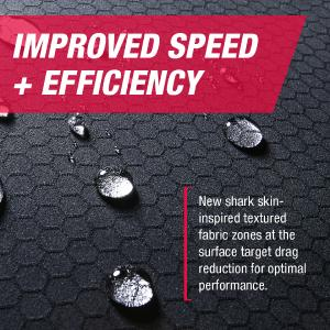 Fastskin suits from Speedo, with reduced drag technology from HeiQ create optimal performance for the swimmer