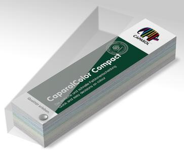 Nachhaltig in Herstellung und Anwendung: Der neue CaparolColor Compact-Farbtonblock (Foto: Caparol Farben Lacke Bautenschutz)