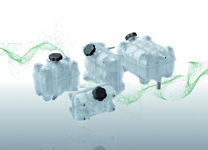 Modular range of liquid tanks