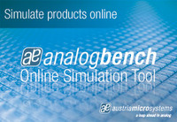 austriamicrosystems introduces analogbench Schematic Capture, Simulation and Analysis Tool for DC-DC ICs