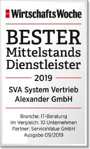 Award WiWo Beste Mittelstandsdienstleister