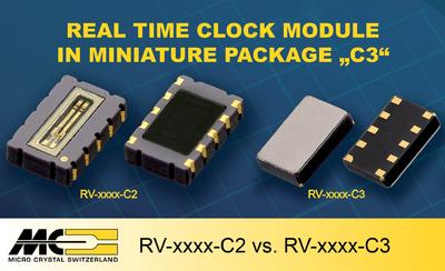"RTC Module in Miniature Package ""C3"""